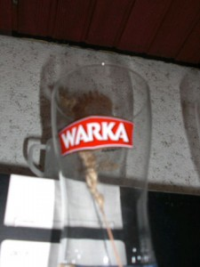 Bierglas Warka