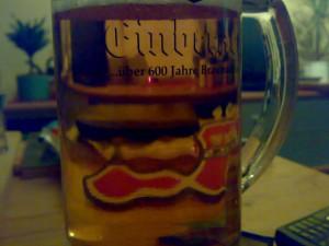 Bierglas Herrenhäuser Einbecker Becks