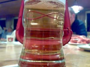 Bierglas Krombacher Rote Laterne