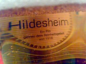 Bierglas Hildesheimer Städtebier