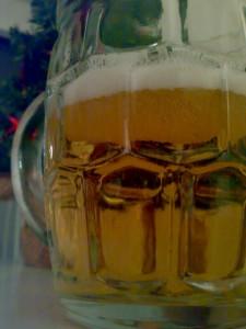 Bierglas Lüttjes Heiligabend