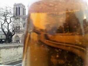 Bierglas Notre Dame Paris