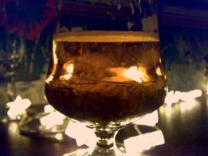 Bierglas Gilde Weihnachten