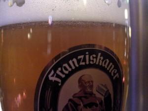 Bierglas Franziskaner alkoholfrei