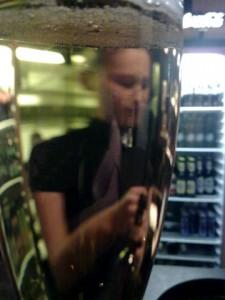 Bierglas Krombacher alkoholfrei