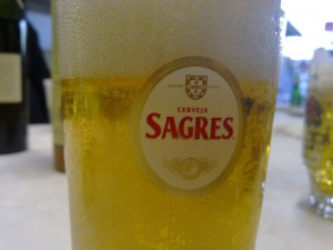 Bierglas Sagres