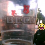 Bierbecher Becks