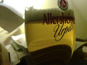 Bierglas Allersheimer