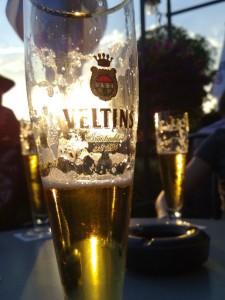 Bierglas Veltins