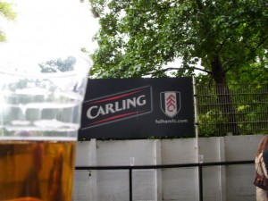 Bierbecher Carling, Craven Cottage