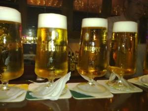 Bierglas 0,3l Bitburger, Hopfenkammer