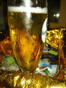 Bierglas 0,3l Krombacher, Hemmingway