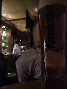 Bierglas 0,2l Krombacher, Zwischendurch