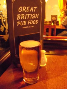 Bierglas Kronenbourg 1664, Earls Court Tavern