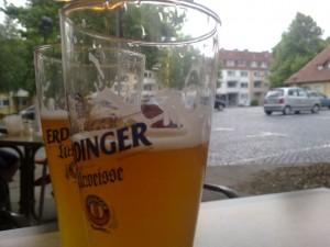 Bierglas Erdinger Urweisse