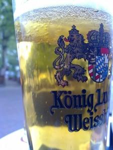 Bierglas König Ludwig