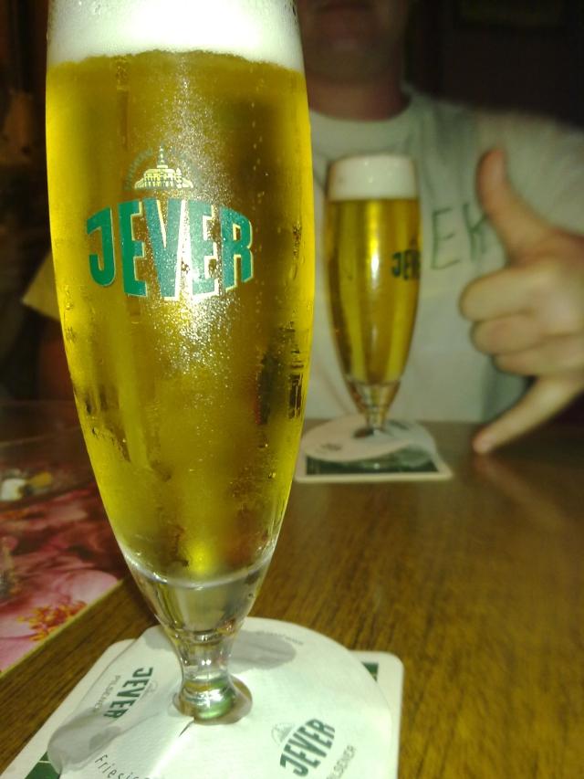 Bierglas Jever Tulpe