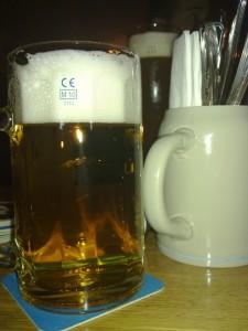 Bierglas Löwenbräu, Atzinger München