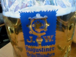 Bierglas Augustiner, Oktoberfest