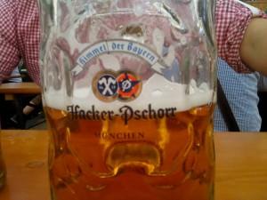 Bierglas Hacker, Oktoberfest