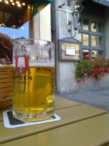 Bierglas Spaten, Spatenhaus München