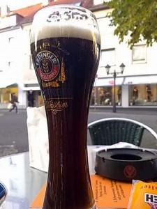 Bierglas Erdinger Dunkel