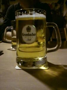 Krombacher Bierglas