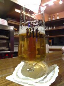 Bierglas Bitburger, 0,3l