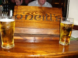 Bierglas O'Neill's Pub