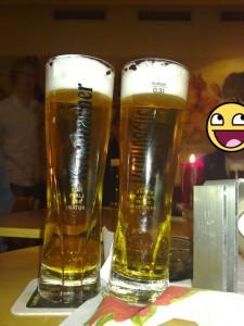 Bierglas Krombacher, 0,3l