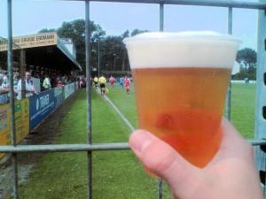 Bierbecher beim TSV Havelse