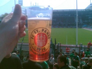 Bierbecher, St. Pauli