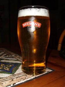 Bierglas, McEwan's, Malta