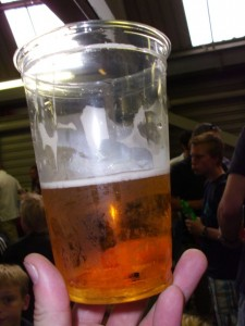 Bierbecher, London Upton Park Stadion