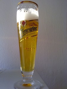 Bierglas Wernesgrüner, Rastal