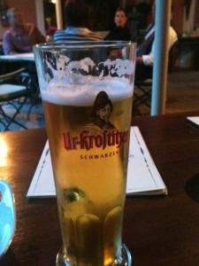 Bierglas Ur-Krostitzer Seidel