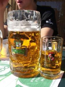 Biergläser Massrkug und Seidel, Verona
