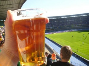 Bierbecher, Stadion Verona