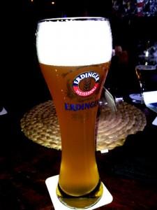 Bierglas Erdinger exklusiv, Sahm