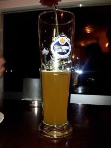 Bierglas Schneider Weisse exklusiv, Sahm