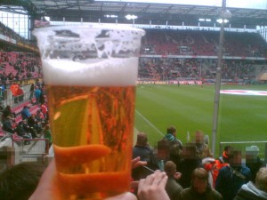 Bierbecher, Müngersdorfer Stadion Köln