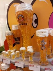 Bierglas Erdinger, Gummibären