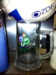Bierglas zur WM2006