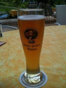 Bierglas Hacker Pschorr Weisse