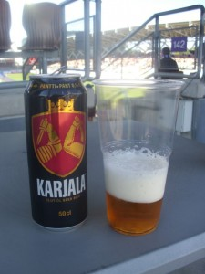 Bier im Becher, Helsinki