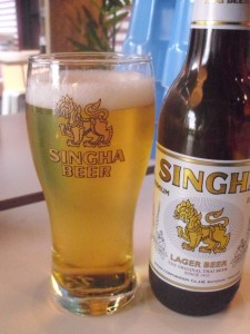 Bierglas Singh Bier