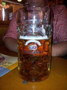 Bierglas Masskrug Hacker Pschorr