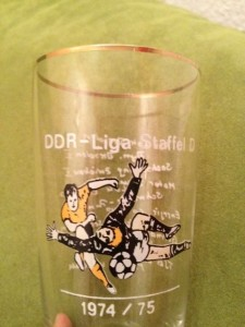 Bierglas DDR Liga Staffel D 1974/75